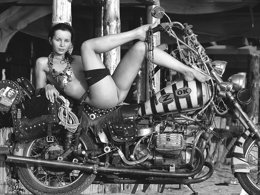 Hells angels nude girls — photo 4