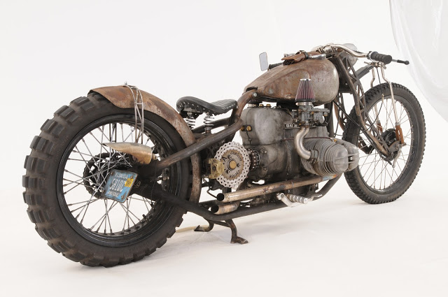 FNA Custom Cycles: Custom BMW – Flesh & Relics