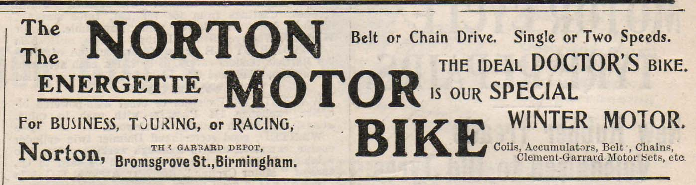 norton motorcycles page  flesh relics