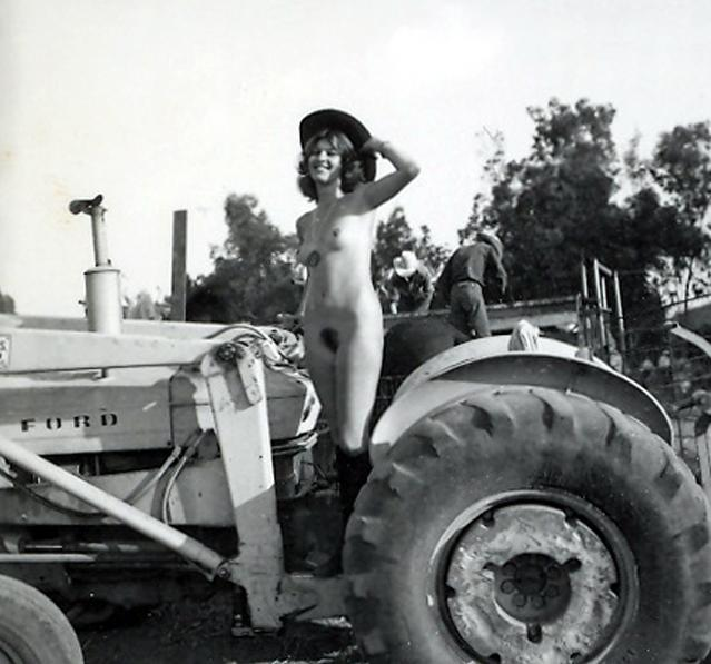 Big tractors and naked girls